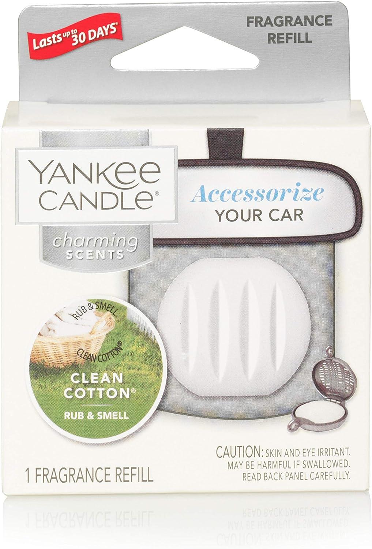 Yankee Candle Clean Cotton Charming Scents Nachfüllduft Auto