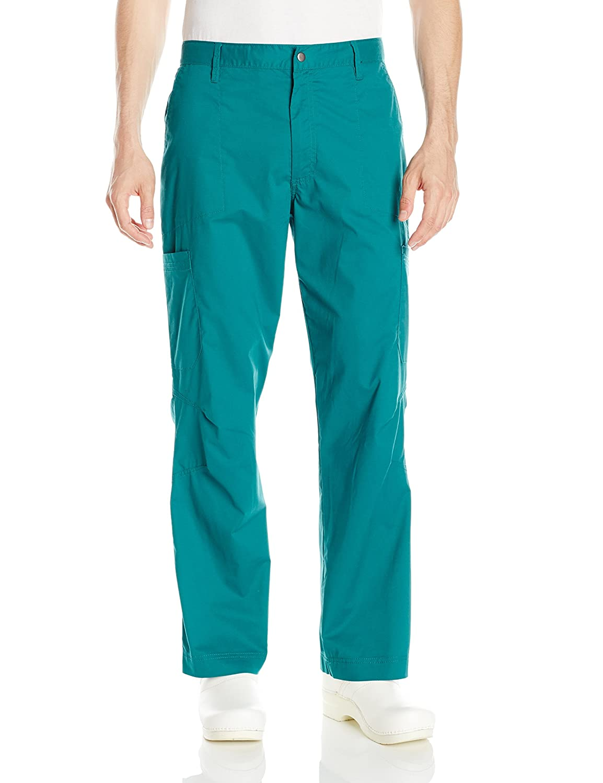 Scrub Zone PANTS メンズ B01AO4NILY Large|グリーン グリーン Large