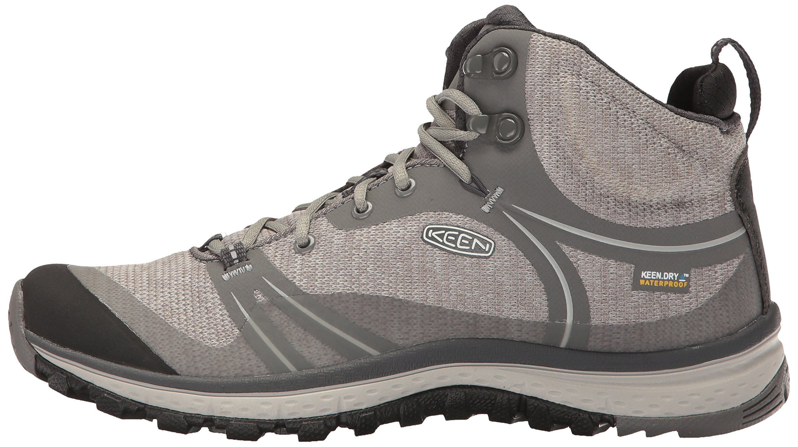 KEEN Women's Terradora Mid Waterproof Hiking Shoe, Gargoyle/Magnet, 9 M US by KEEN (Image #5)
