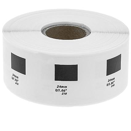 BeMatik - Rollo bobina de 1000 etiquetas adhesivas compatibles con ...
