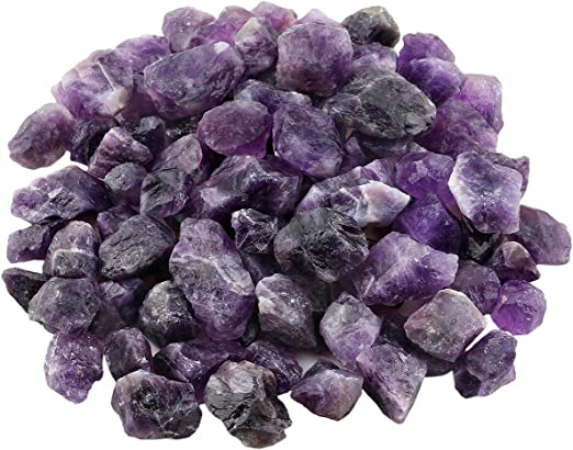 Large Amethyst Point Rough Natural Crystal Raw Mineral Specimen Reiki Chakra x 1