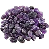 rockcloud 1 lb Natural Crystals Raw Rough Stones for Cabbing,Tumbling,Cutting,Lapidary,Polishing,Reiki Crytsal Healing…