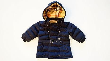 BURBERRY Niños chaqueta acolchada, azul oscuro Lujo Chaqueta ...