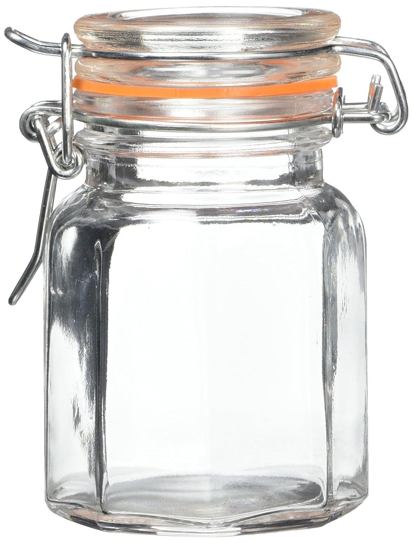 Apollo Glass Spice Jar, Set of 6 7405