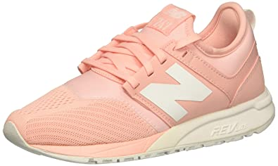 c9eb8e044a5a8 New Balance Rl247Em Sneaker For Women Peach Size 39 EU: Amazon.ae