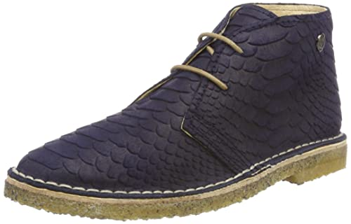 Jonny's London, Zapatos de Cordones Brogue Unisex Adulto, Azul (Azul 013), 44 EU