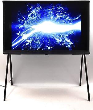 Samsung Ls01r The Serif 108 Cm 43 Zoll Qled Lifestyle Fernseher Serif Ambient Mode Ultra Hd Hdr Smart Tv Nachtblau Modelljahr 2019 Heimkino Tv Video