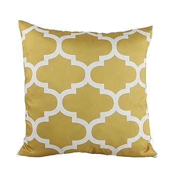 Sofa Cushion Covers Amazon: Amazon com  Puredown Canvas Decorative Cushion Covers Sofa Chair    ,