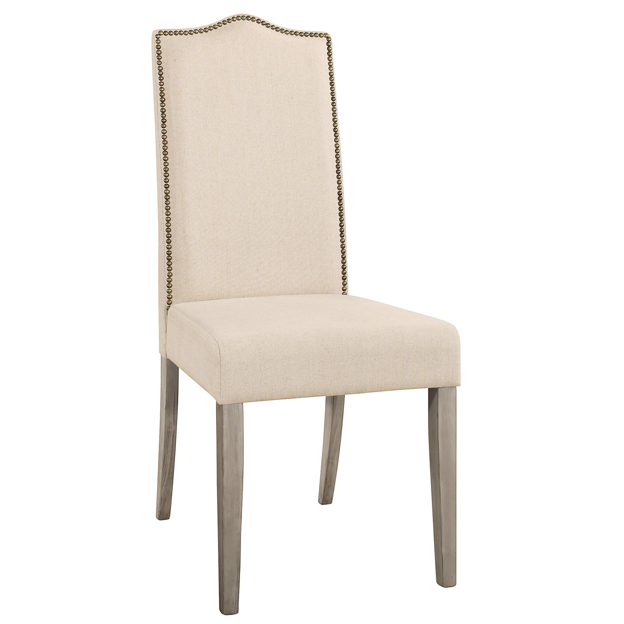 Carolina Chair and Table Romero Parson Chair in Weathered Gray