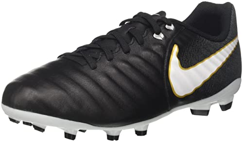 f1f1d826a0f Nike Kids  Tiempo Ligera IV FG Soccer Cleats (1 Little Kid M) Black
