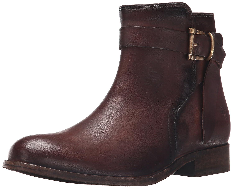 FRYE Women's Melissa Knotted Short Boot B01015T9N2 8 B(M) US Redwood Polished Stonewash-76793