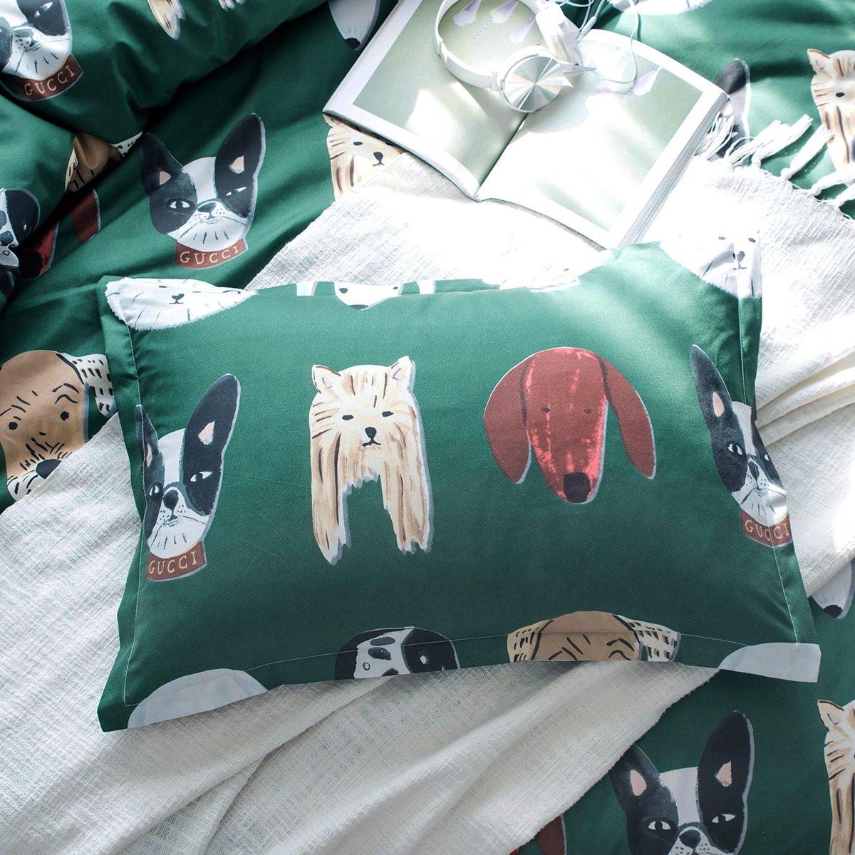 Breathable GOOFUN-B1K 3 Piece Duvet Cover Bedding Set Lightweight Microfiber 1 Duvet Cover 2 Pillow Shams Comfortable Soft King Size SQXR-2K