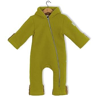 bubble.kid berlin - Unisex Baby Mädchen Jungen Herbst Winter Anzug Overall Einteiler Jumpsuit Onepiece Onesie, Fleece Overall