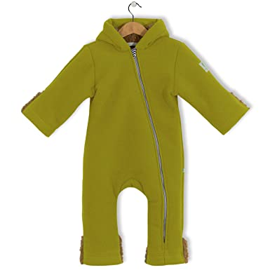 208da405a bubble.kid berlin Baby Boys  Long Sleeve Dungarees Green Apple 80 cm ...