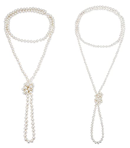 amazon monily 2 pcs 6 8mm 1920s created pearl necklace flapper 1920s Clip Art monily 2 pcs 6 8mm 1920s created pearl necklace flapper beads long choker necklace