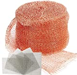 REMOPEST Copper Mesh, 5x100 Ft and 5 pcs