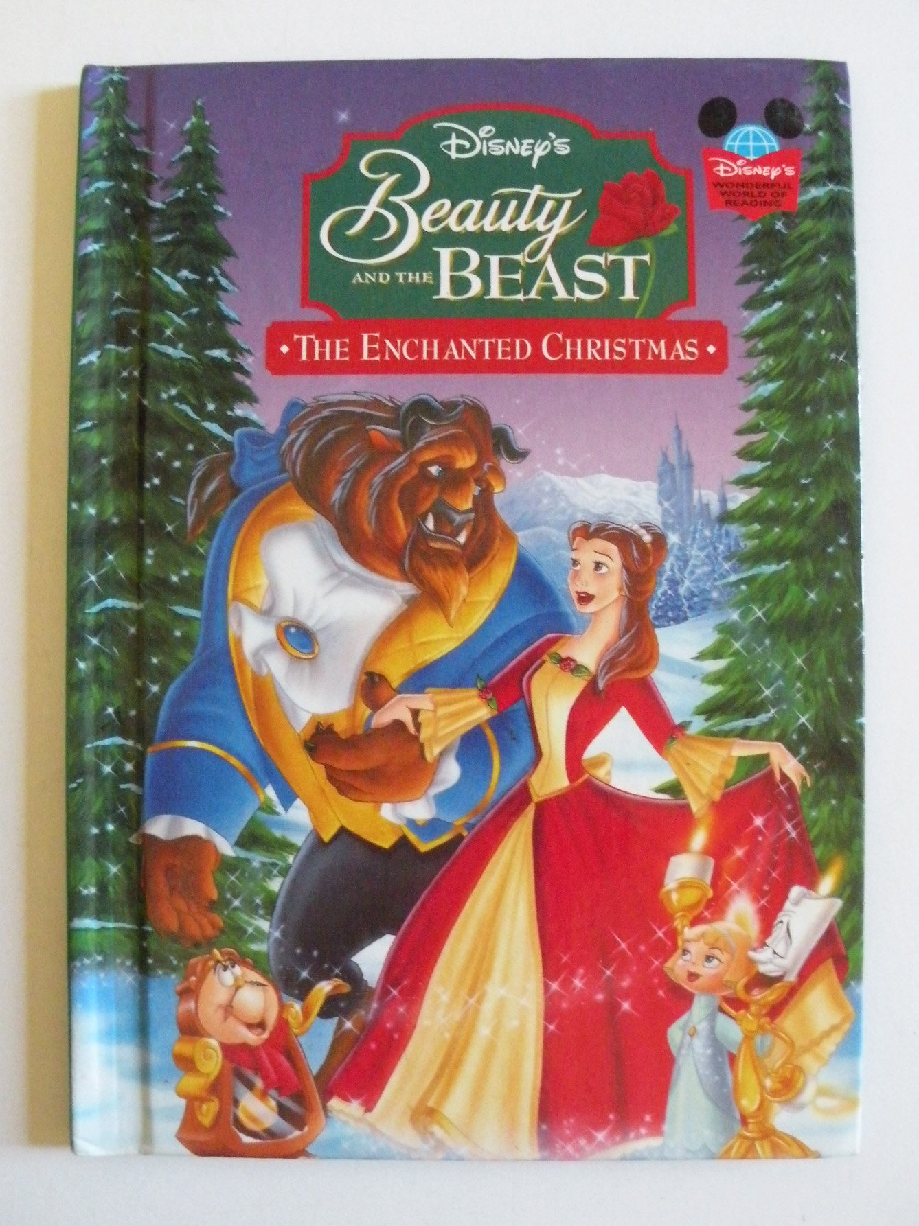 Beauty And The Beast Christmas.Beauty And The Beast The Enchanted Christmas Disney