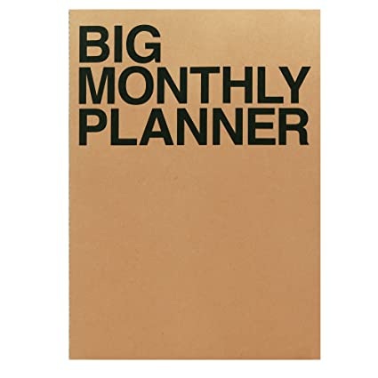 amazon com blank 13 month planner calendar book large wall