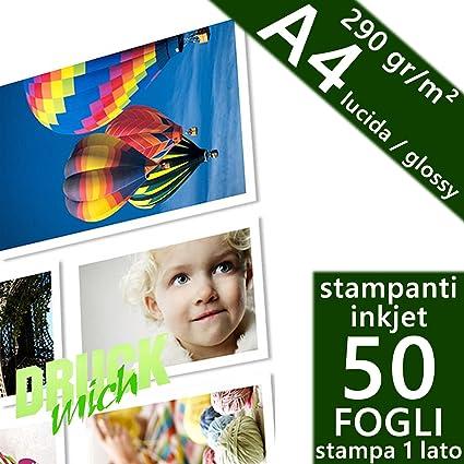 Unidades 50 hojas papel fotográfico A4 PREMIUM fotos Glossy ...