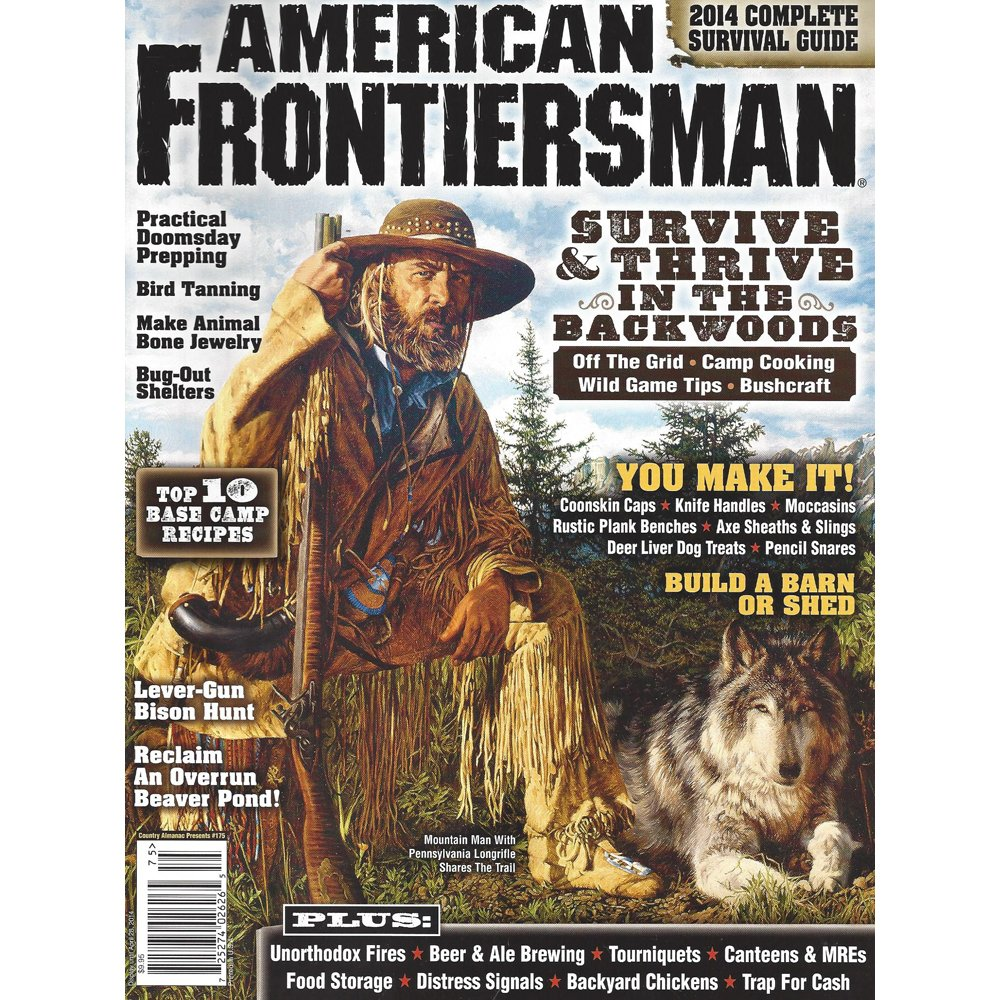 Amazon.com: American Frontiersman 3 Pack: Oldest Issues: Sports & Outdoors