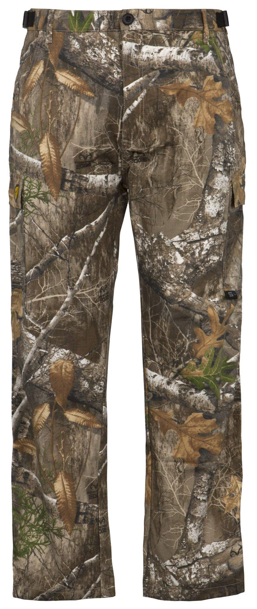 Scentblocker Men's 6-Pocket Pants, Realtree Edge, 3XL by Scent Blocker
