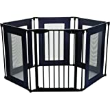Dreambaby Brooklyn Converta Play-Pen Gate with Mesh Sides, Black