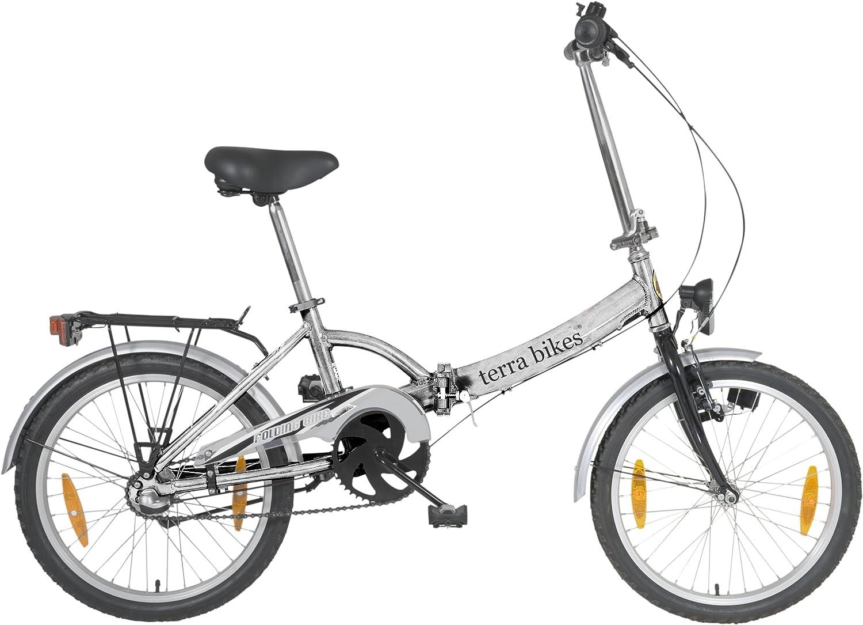 Terrabikes - Bicicleta plegable de 3 velocidades, rueda de 20 ...