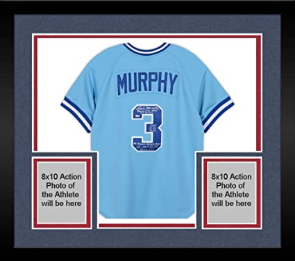sale retailer 21c49 d9936 Framed Dale Murphy Atlanta Braves Autographed Mitchell and ...