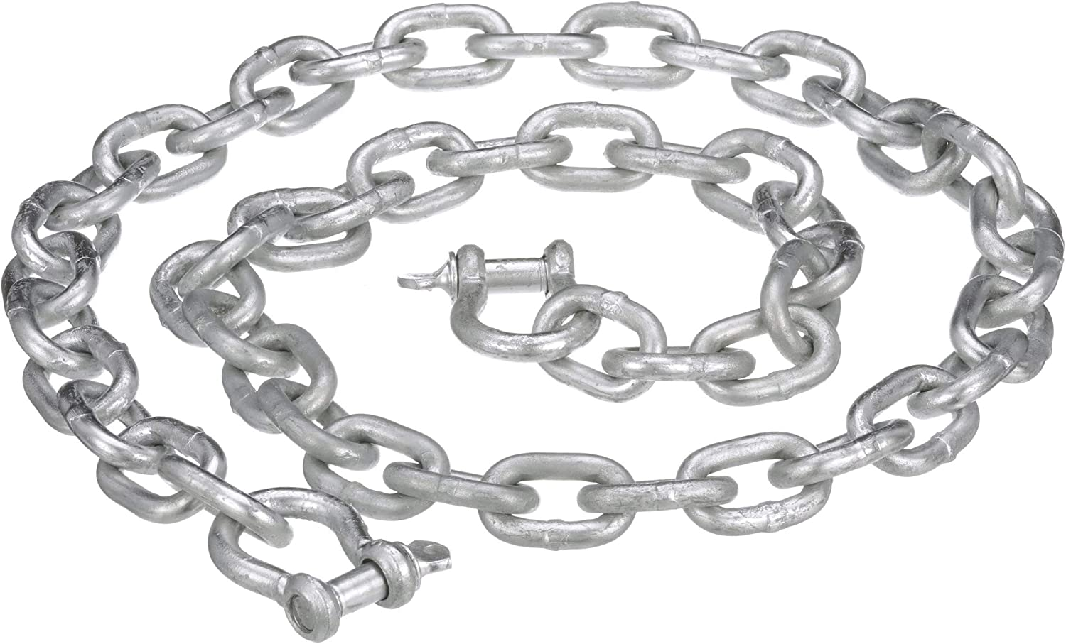 Extreme Max 3006.6572 BoatTector Galvanized Steel Anchor Chain 5//16 x 5
