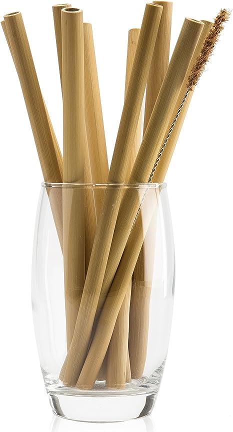 NATURAL NEO Organic Bamboo Straws