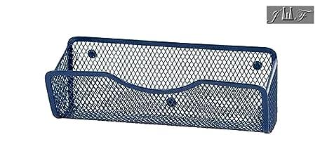 Amazon.com: Organizador magnético de malla de alambre para ...