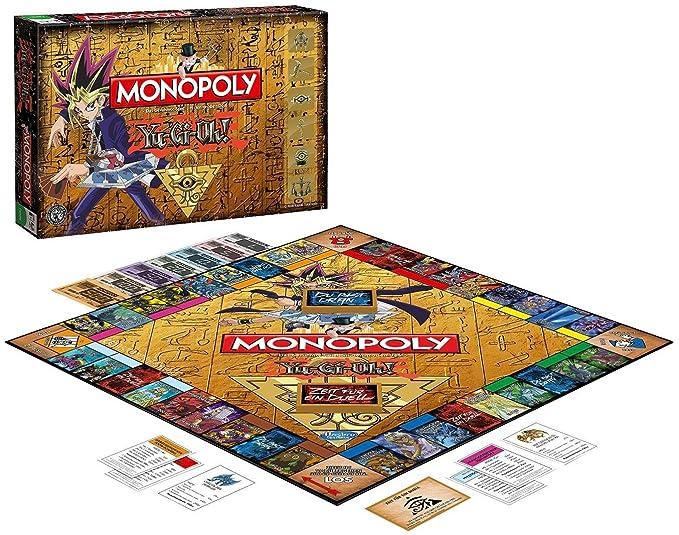 Winning Moves Monopoly Yu-Gi-Oh! Niños y Adultos Simulación ...