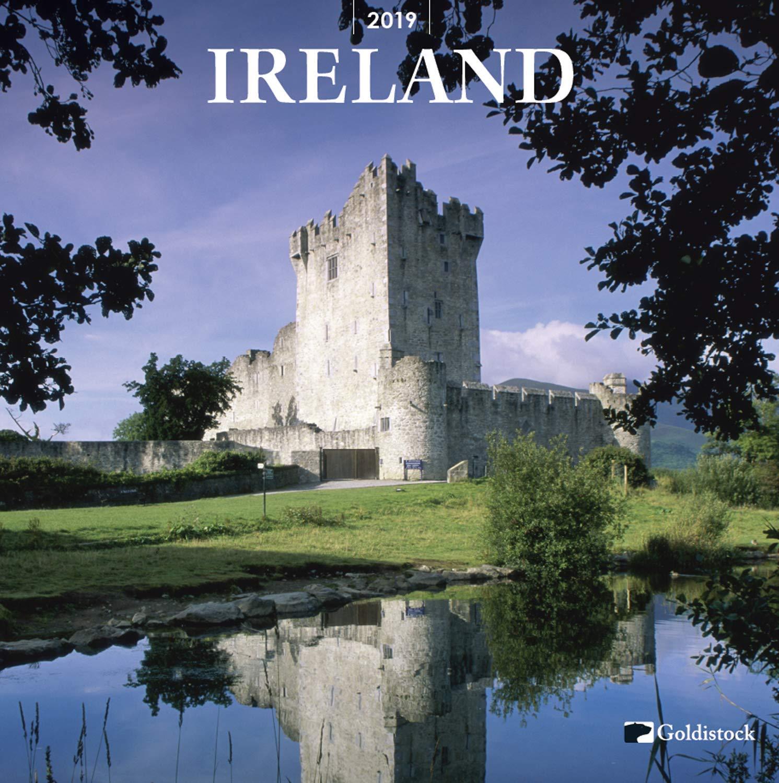 Goldistock -''Ireland'' 2019 Large Wall Calendar - 12'' x 24'' (Open) - Thick & Sturdy Paper - Beautiful Images of Historic Ireland