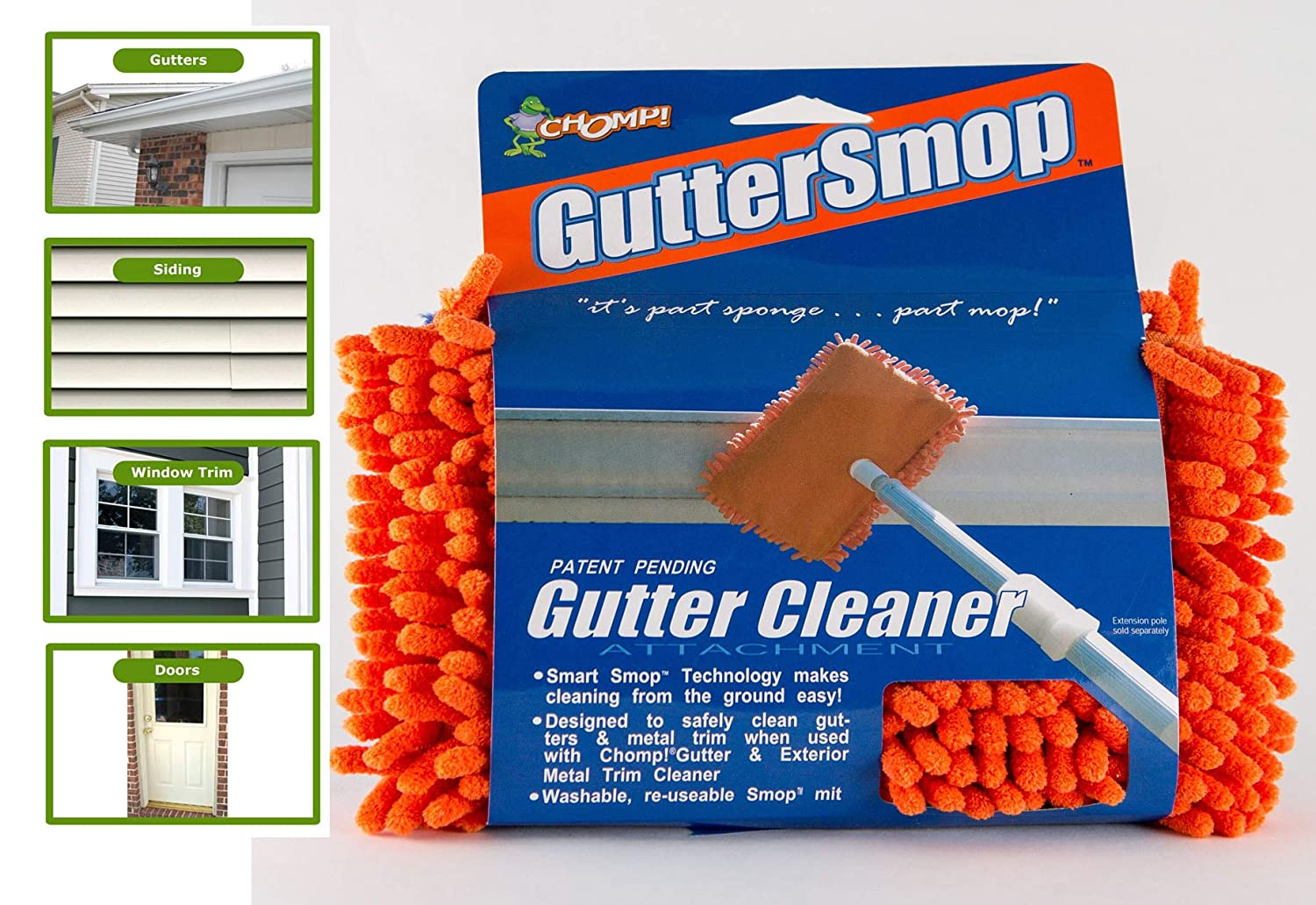 Chomp Microfiber Gutter Cleaner Tool Ultimate Gutter