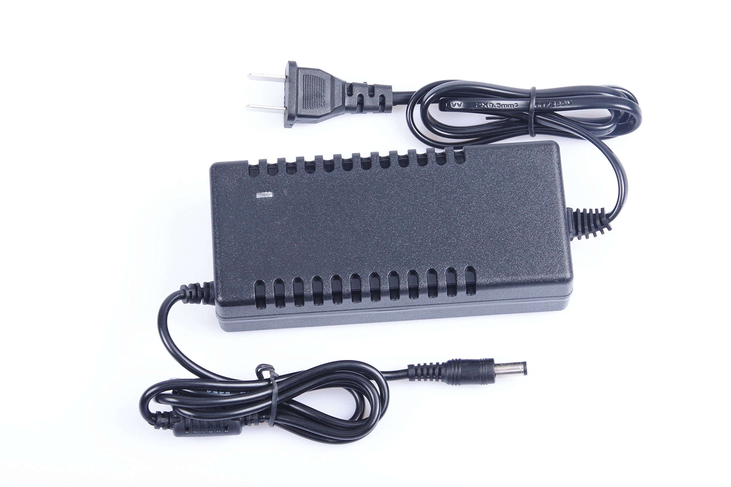 KNACRO 10PCS AC 100-240V to DC 12.6V/5A 12.6v 5a Power Supply Adapter Polymer 12V Battery Charger Transformers with a US Plug