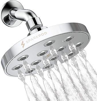 Shower Head High Pressure Rain Luxury Modern Chrome Look The Perfect shower