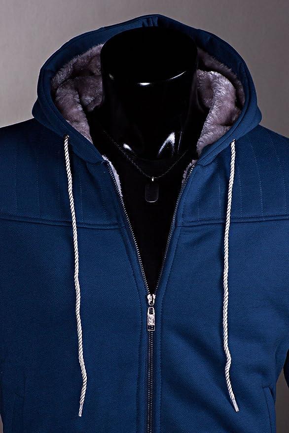 trisens herren jacke winterjacke warm übergangsjacke jacke hoodie gefüttert
