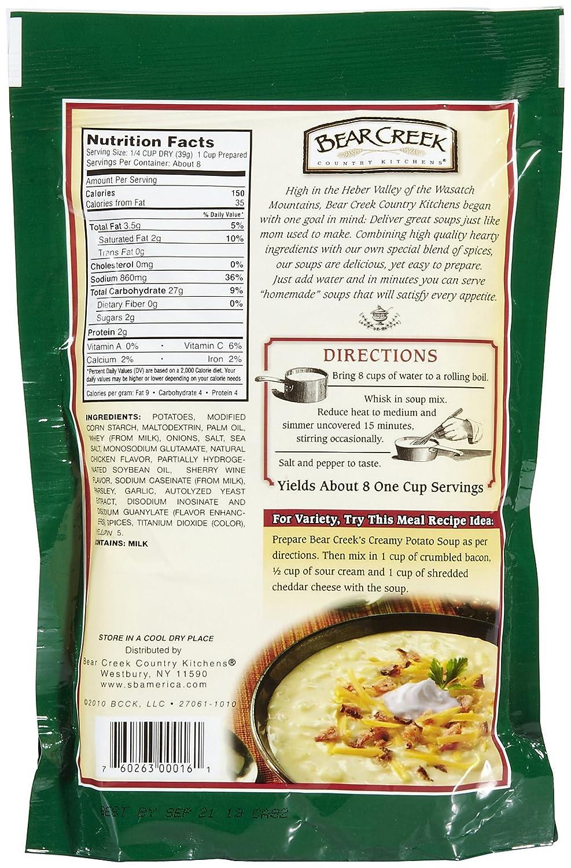 Amazon.com : Bear Creek Creamy Potato Soup Mix   11 Oz : Grocery U0026 Gourmet  Food