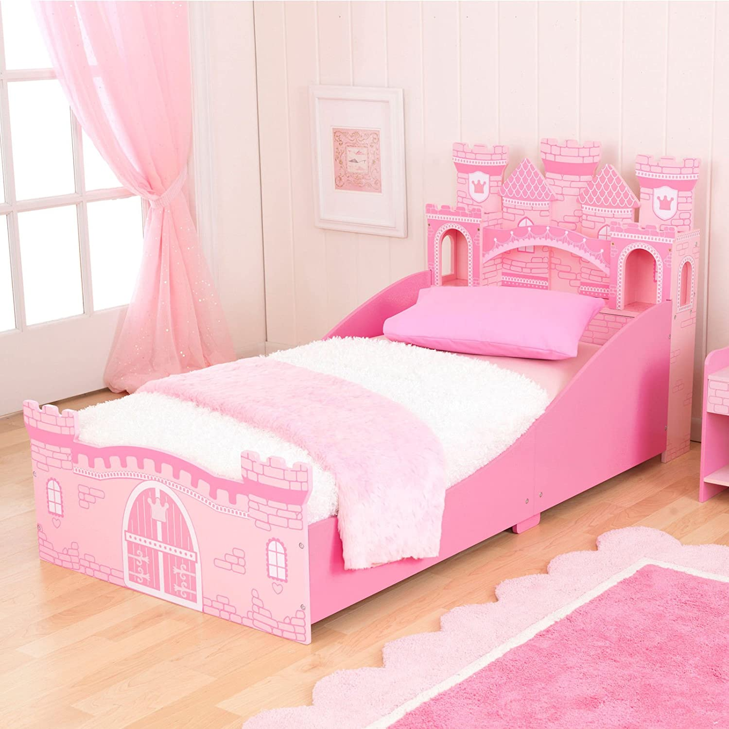 Amazon KidKraft Girls Princess Castle Toddler Bed Toys Games