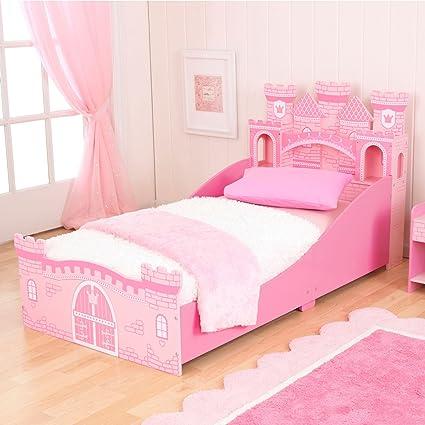 KidKraft Girls Princess Castle Toddler Bed