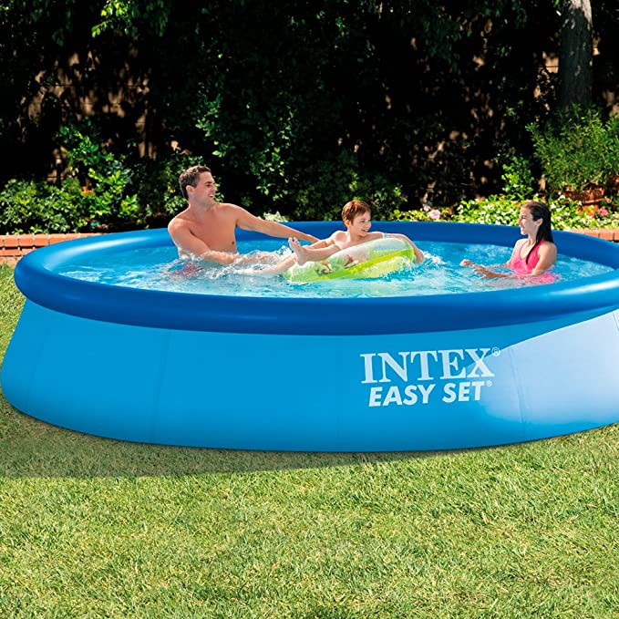 Intex Piscina easy set 366 x 76 cm con depuradora: Amazon.es: Jardín