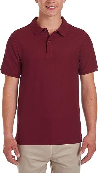 Nautica Short Sleeve Uniform Stretch Polo Camisa Hombre: Amazon.es: Ropa y accesorios