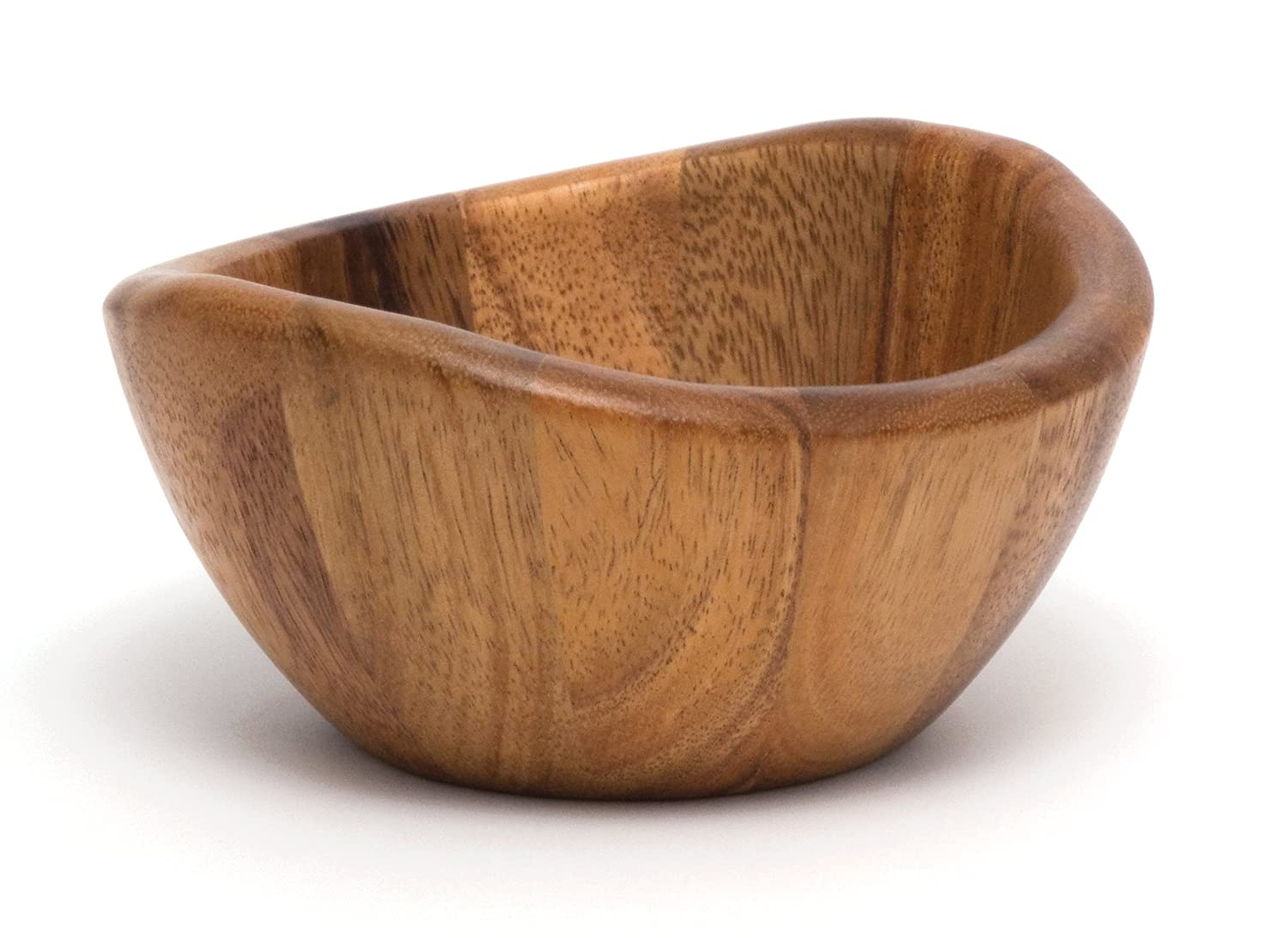 Lipper International Small Wavy Bowl, Acacia Inc. 1173