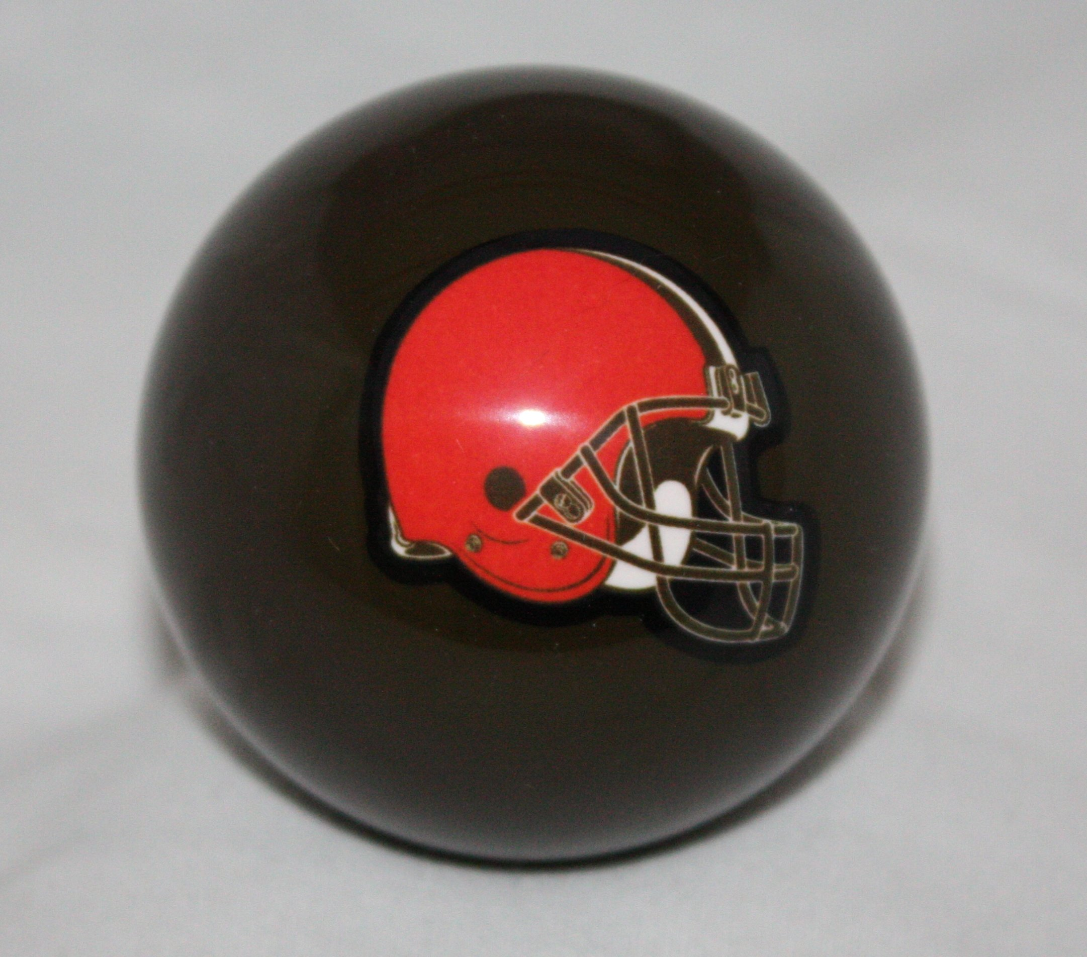 Vigma Cleveland Browns Brown Billiard Pool Cue Ball 8