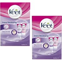 Veet Crème Décolorante Spécial Visage - 2 x 30 ml - Lot de 2