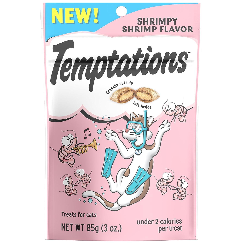 Frustration-Free Packaging 3 oz. 12 Pack Frustration-Free Packaging 3 oz. 12 Pack TEMPTATIONS Classic Treats for Cats Shrimpy Shrimp Flavor 3 Ounces