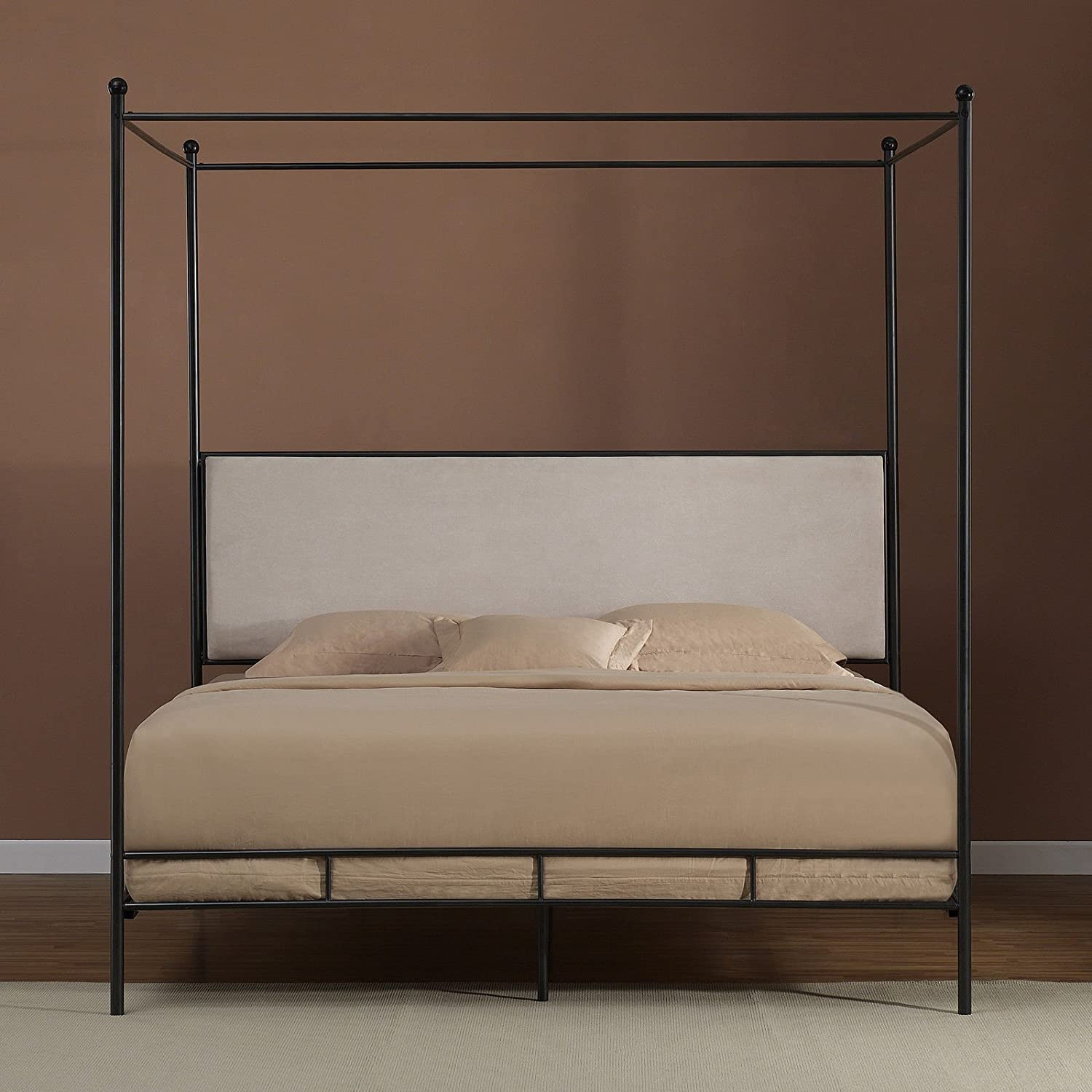 & Amazon.com: Lauren King Metal Canopy Bed: Kitchen u0026 Dining