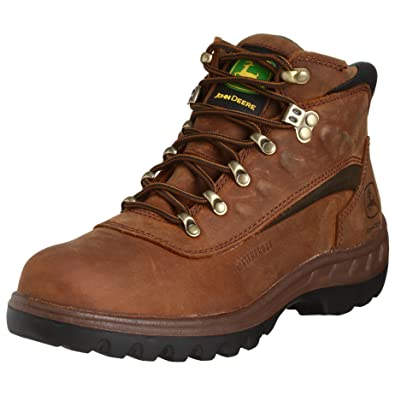 Amazon.com | John Deere Men's Poplar WCT 5 NC WP Lace Boot ...