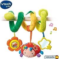 VTech- Baby Sonajero Interactivo de Tela Espiral