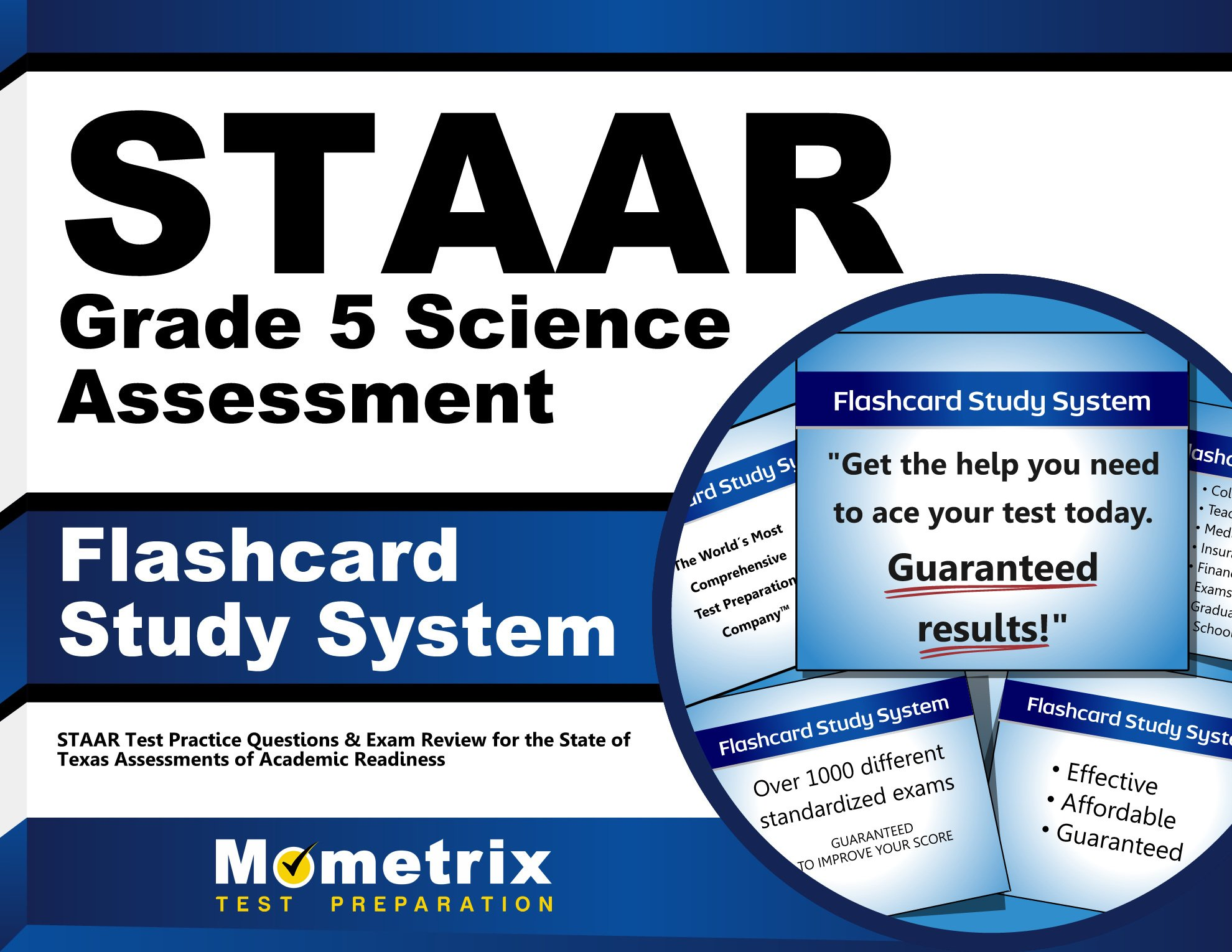Download STAAR Grade 5 Science Assessment Flashcard Study System: STAAR Test Practice Questions & Exam Review for the State of Texas Assessments of Academic Readiness (Cards) pdf